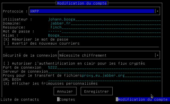Finch : Client de messagerie instantanée / Wiki / Debian ...
