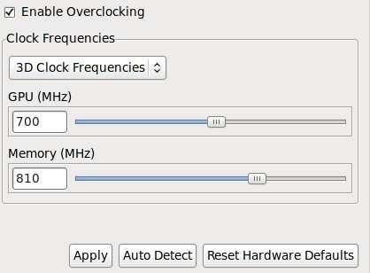 Overclocker sa carte nvidia / Wiki / Debian-facile