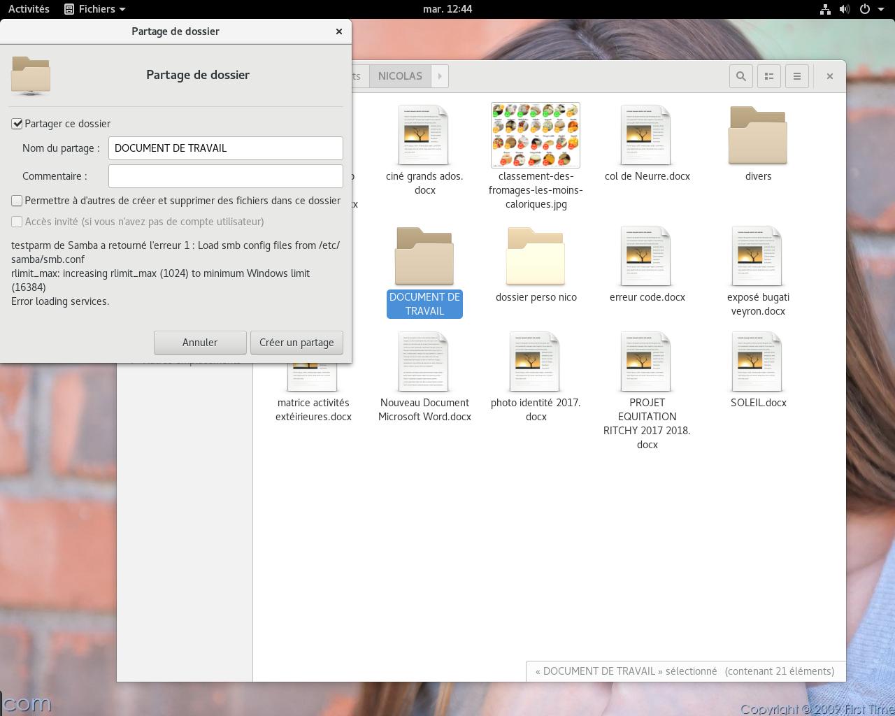 Comment partager un dossier avec samba et windows 10 ? - Support